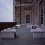 terrazzo lato nord Castello di Rivoli opera di Maria Nordman